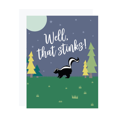 Well, that stinks! Supportive or sorry card by REVEL & Co.