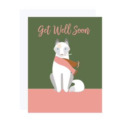 Fox Get Well Soon Card by REVEL & Co.