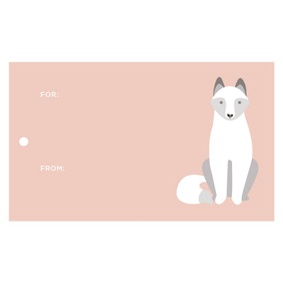Arctic Fox Gift Tags