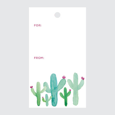 Cactus Gift Tags