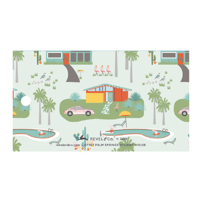 Palm Springs Holiday House Gift Tags