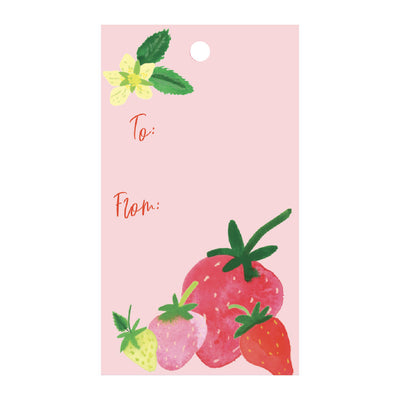 Strawberries Gift Tags