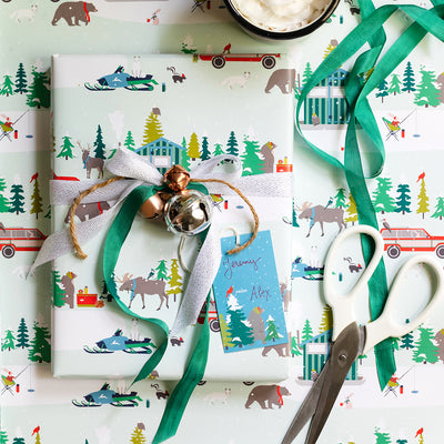 Bear Camp Gift Tags