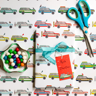 Woody Wagon Gift Tags