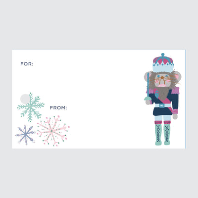 Nutcracker Soldiers Gift Tags