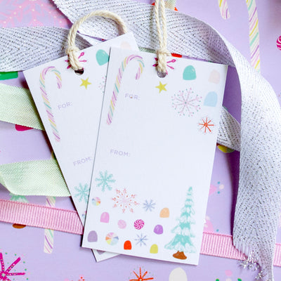 Nutcracker Candy Gift Tags