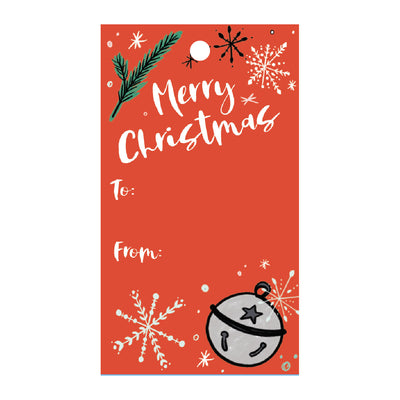 Jingle Bells Gift Tags