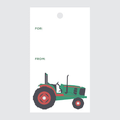 Tractor Gift Tags