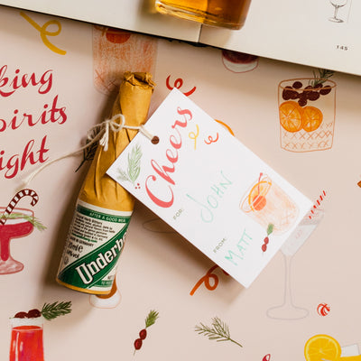 Holiday Spirits Gift Tags