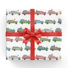 Woody Wagon Gift Wrap