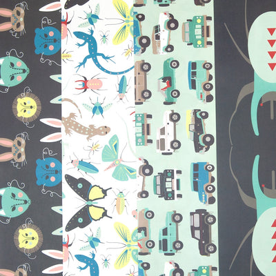 Children's wrapping paper by Revel & Co.