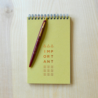 Revel Paper pen and copper foil notebook