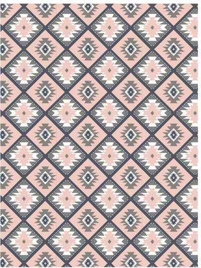 Southwestern kilim pattern wrapping paper by Revel & Co.
