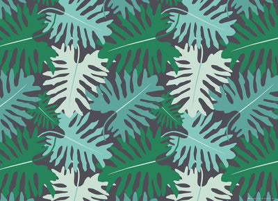 Big Tropical Leaves Gift Wrap