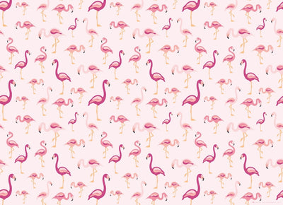 Flamingos Gift Wrap Sheet