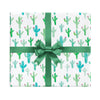 Cactus wrapping paper by Revel & Co.
