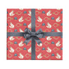 Fox hunt wrapping paper by Revel & Co.