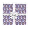 Best in show equestrian themed wrapping paper by Revel & Co.