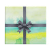 Johns Island Sunday green watercolor abstract wrapping paper by Revel & Co.