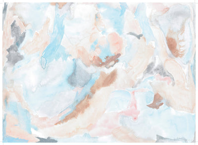 Rose Quartz Quarry Abstract Gift Wrap by Revel & Co.