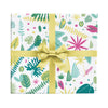 Jungle leaves wrapping paper by Revel & Co.