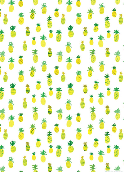 Pineapple wrapping paper by Revel & Co.