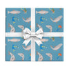 Fly fishing wrapping paper by REVEL & Co.