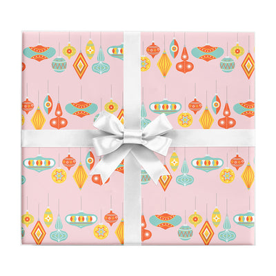 Palm Springs Ornaments gift wrap by REVEL & Co.