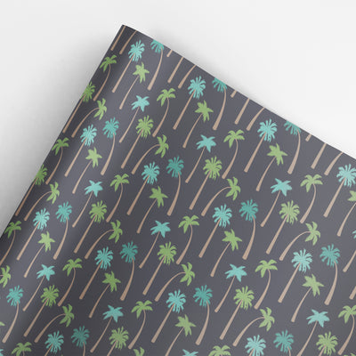 Palm trees wrapping paper by REVEL & Co.