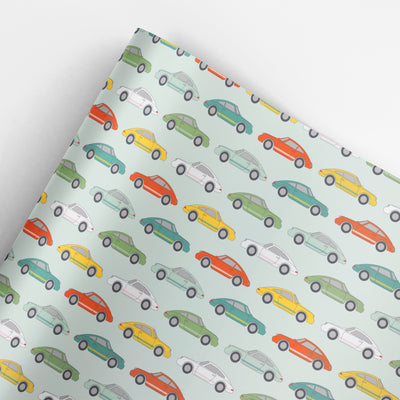 Sports Car wrapping paper by REVEL & Co.