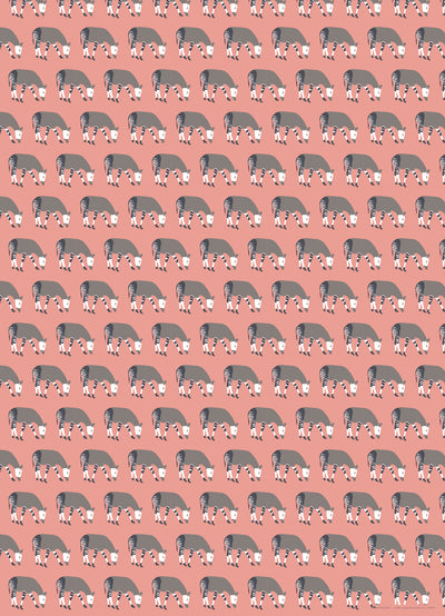 Okapi wrapping paper by REVEL & Co.