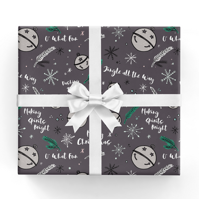 Jingle Bells Gift Wrap