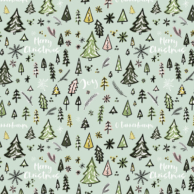 O'Christmas Tree Gift Wrap