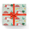 Farm Christmas Gift Wrap