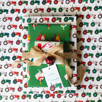 Tractor Gift Wrap