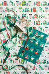 Winter Houses Gift Wrap
