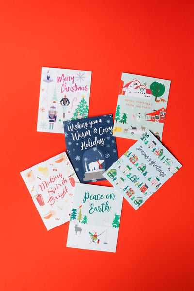Christmas cards by REVEL & Co.