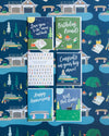 Summer camp fishing greeting cards and gift wrap by REVEL & Co.