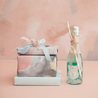 Feminine wrapping paper by Revel & Co.
