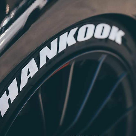 "HANKOOK 1"" TYRE LETTERS LETTERING TIRE WRITING"
