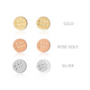 Zodiac Stud Earrings Candle - Leo