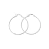 Earrings Sterling Silver Hoop