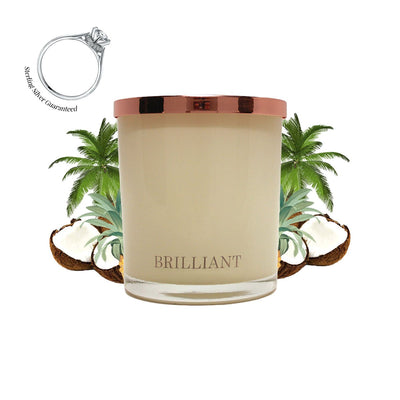 No.13 Indian Palm Sunset - Jewel Candle