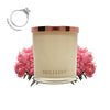 No.4 Peony Rose  - Jewel Candle