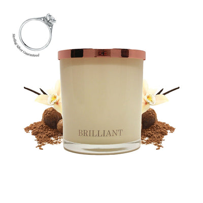 No.9 Cocoa Latte  - Jewel Candle