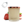 No.24 Strawberry Panna Cotta - Jewel Candle