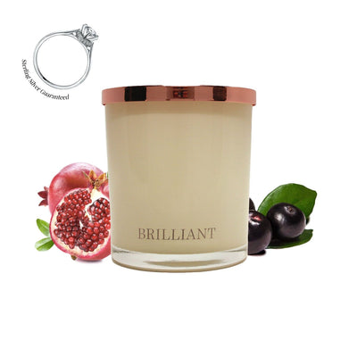 No.1 Brazilian Acai Berry & Pomegranate - Jewel Candle