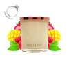 No.37 Raspberry & Mango   - Jewel Candle