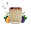 No.35 Sugar Plum & Vanilla  - Jewel Candle