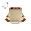 No.12 Cinnamon & Vanilla Tea - Jewel Candle